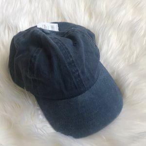 NWT denim Jean Blue Plain Dad hat baseball cap